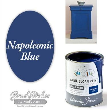 Chalk Paint 1 Litre Napoleonic Blue