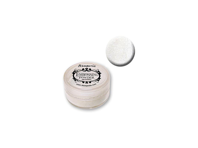 Embossing puder white