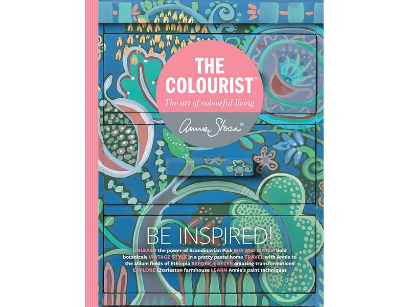 The Colourist - Be Inspired - kniga Annie Sloan