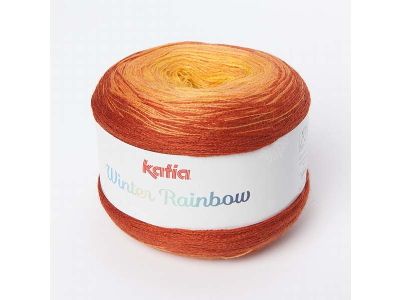 WINTER RAINBOW-KATIA Narandžasta 50% Lan, 50% akril